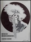 Inktober 07Oct20, Alla Nazimova