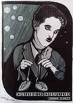Inktober 08Oct20, Charlie Chaplin