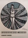 Inktober 11Oct20, Josephine Baker