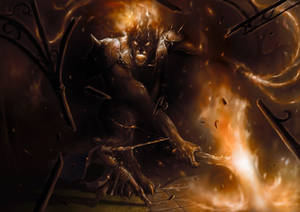 La defensa de Gondolin / The defense of Gondolin