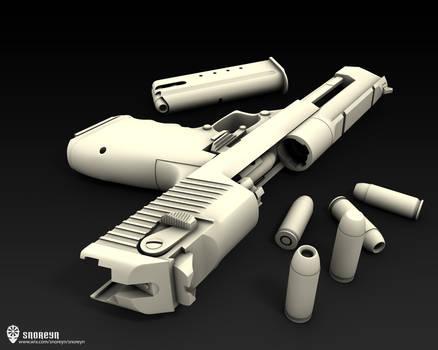 Desert Eagle .50AE 3D model