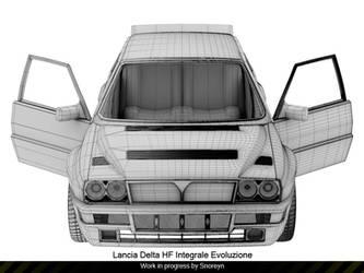 Lancia Delta HF W.I.P update