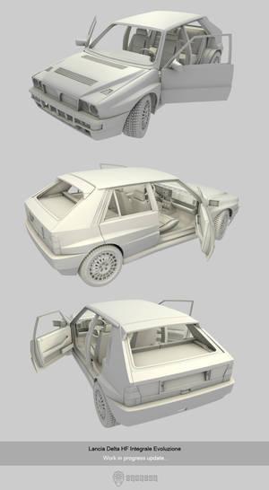 Lancia Delta HF W.I.P update 2