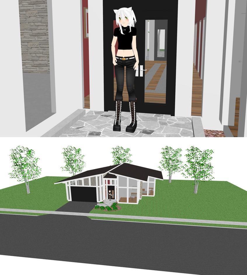 Mmd house model