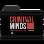 Criminal Minds Logo Folder