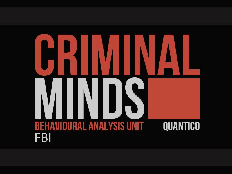 criminal minds logo by obeyshi on deviantart