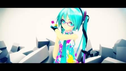 CYM Hatsune Miku Project Violet by Process39