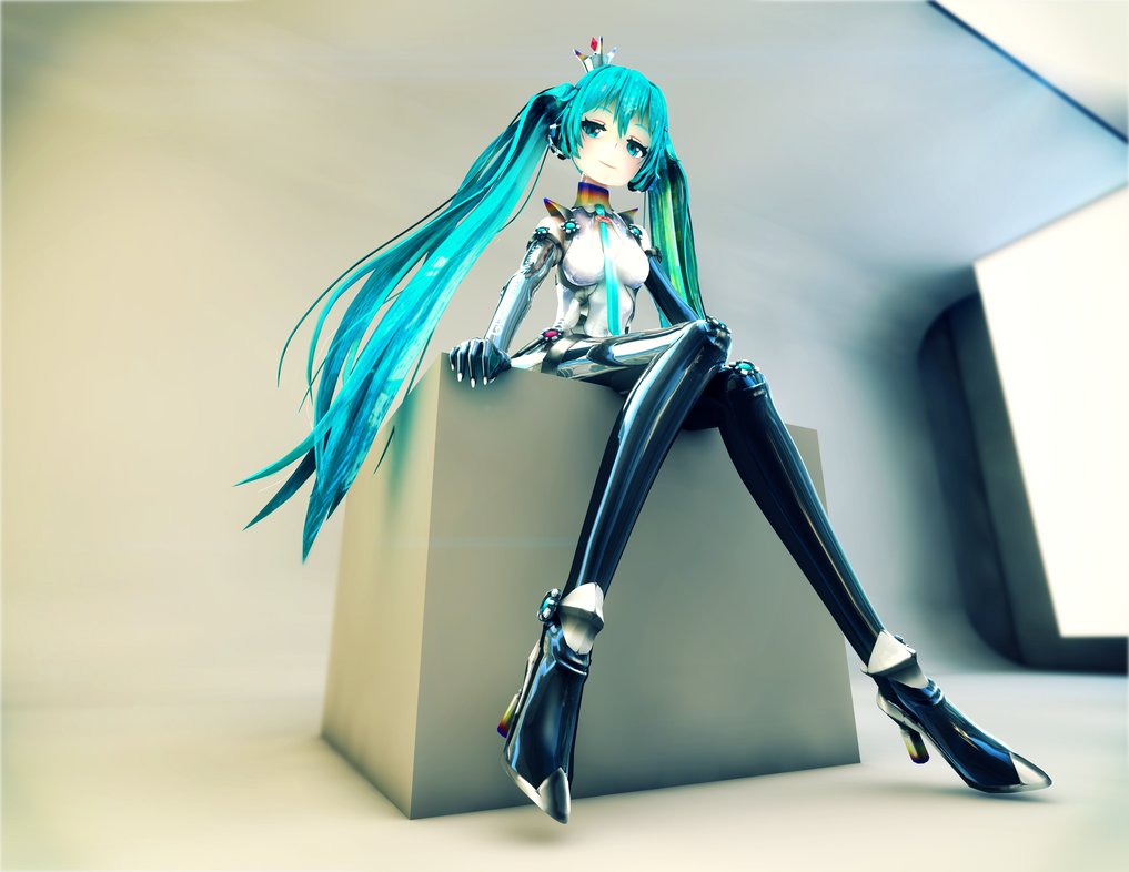 Racing Miku 2013 Texel Works Render by Process39