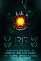 Iris: 3DCGI Short Film Poster by Process39