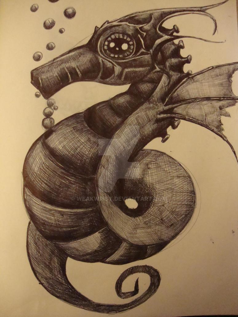 Seahorse by weakwrist