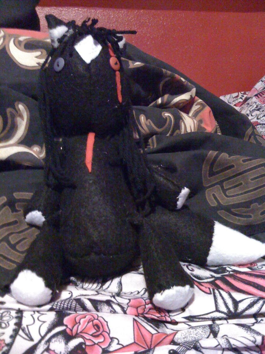 Night rag doll by ToxicAsylum