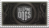 Sleeping Dogs Stamp by Hazelmere