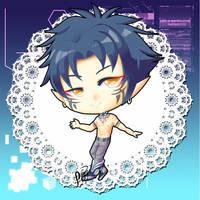 Chibi Ren (Shirtless Ver) by poppyrous