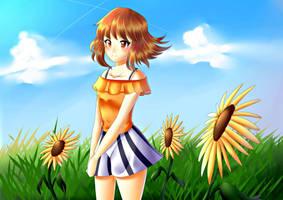 Sunny Morning Rei by poppyrous