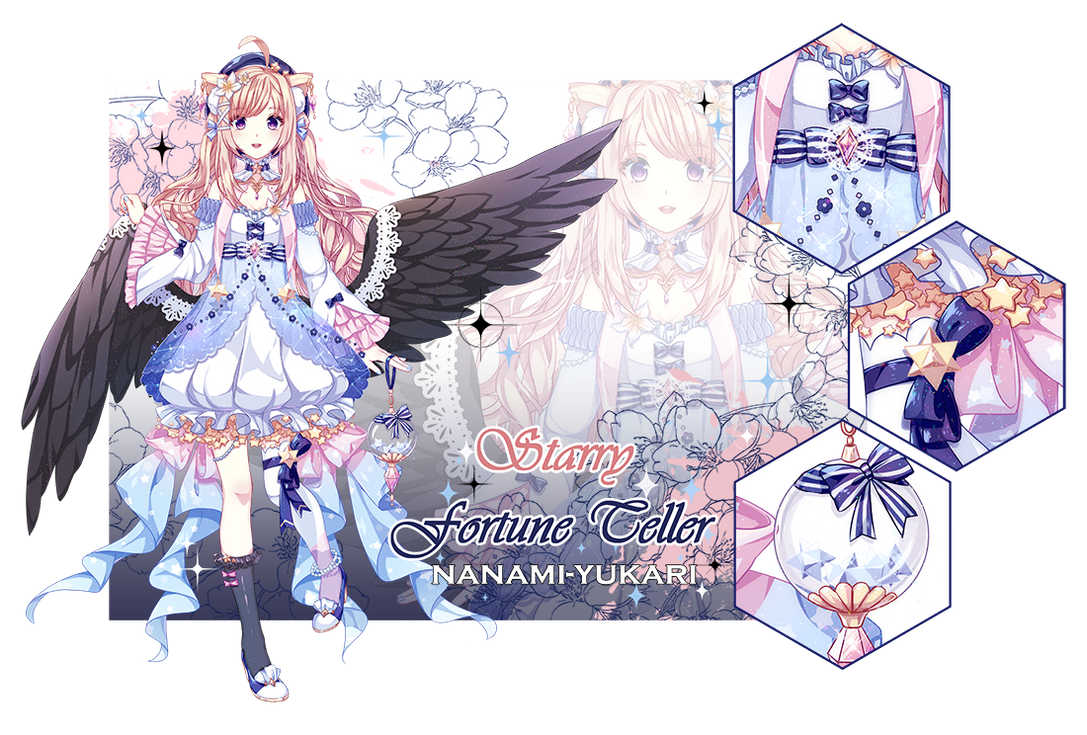 :ADOPT AUCTION: Starry Fortune Teller (CLOSED)