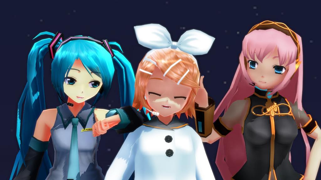 Character Vocal Series by Riirichiyo