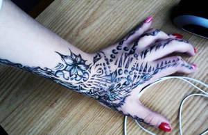 Tatoo practising by LianaKupcova