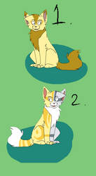 Cat Adoptables Batch 27 !Closed by Waterwolfwebkinz
