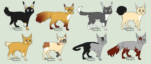 Cat OTA Adoptables 28 !OPEN! by Waterwolfwebkinz
