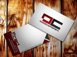Odd Complex Business Card by yourTwin