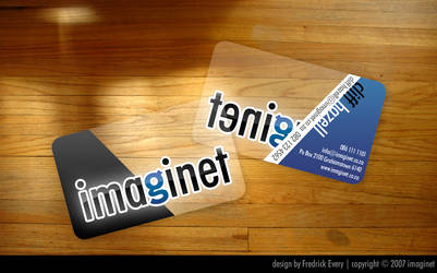 Imaginet Business Cards by yourTwin