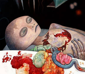 Alien Autopsy by Art-of-Eric-Wayne
