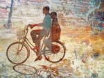 Girls on Bike, Hue
