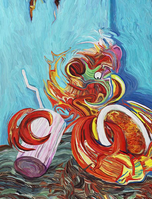 Seafood Spaghetti Sunday by Art-of-Eric-Wayne