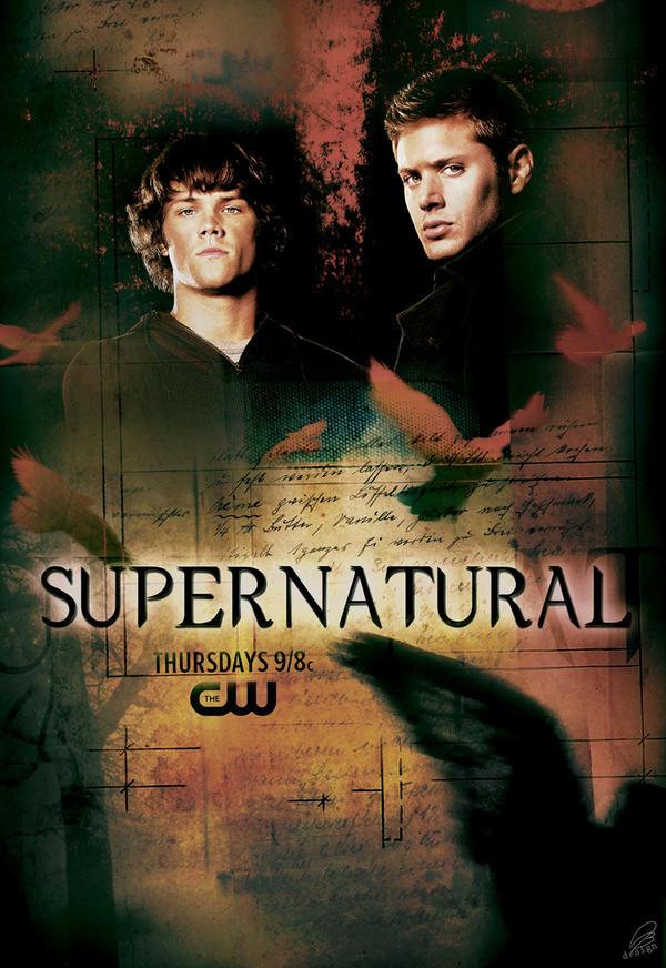 Supernatural S4 Remake Poster By Anab On Deviantart