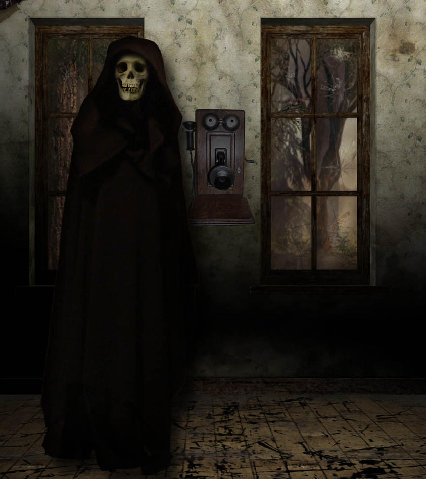 Death Makes A Phone Call by KiraRavenLupin