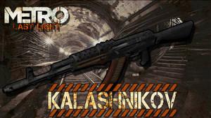 Metro Last Light Kalashnikov