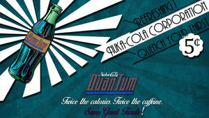 Fallout Nuka Cola Quantum Poster Wallpaper