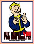 We Want You! Vault-Tec