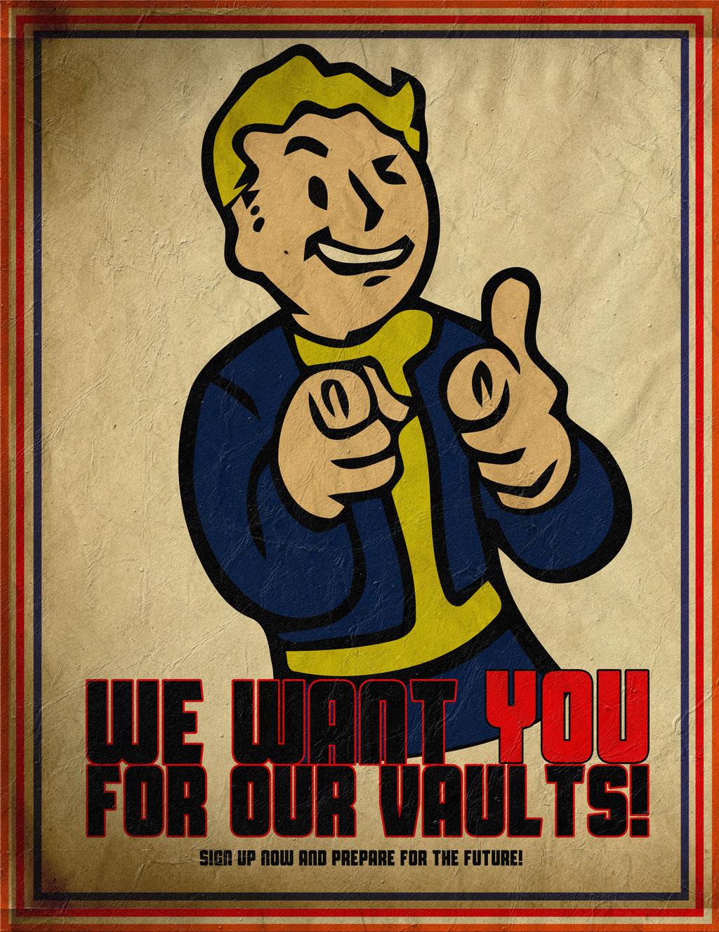 We Want You! Vault-Tec Vintage