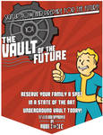 The Vault of The Future, Today! Poster