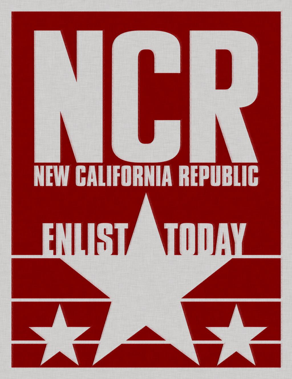 New California Republic Poster