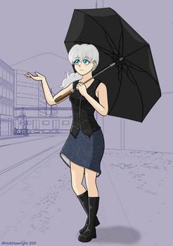 Natasha in the Rain