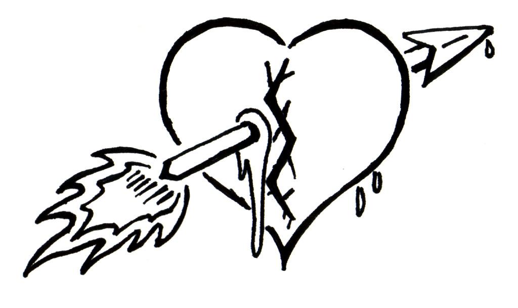 Tribal broken heart by Silent-Shadows on DeviantArt