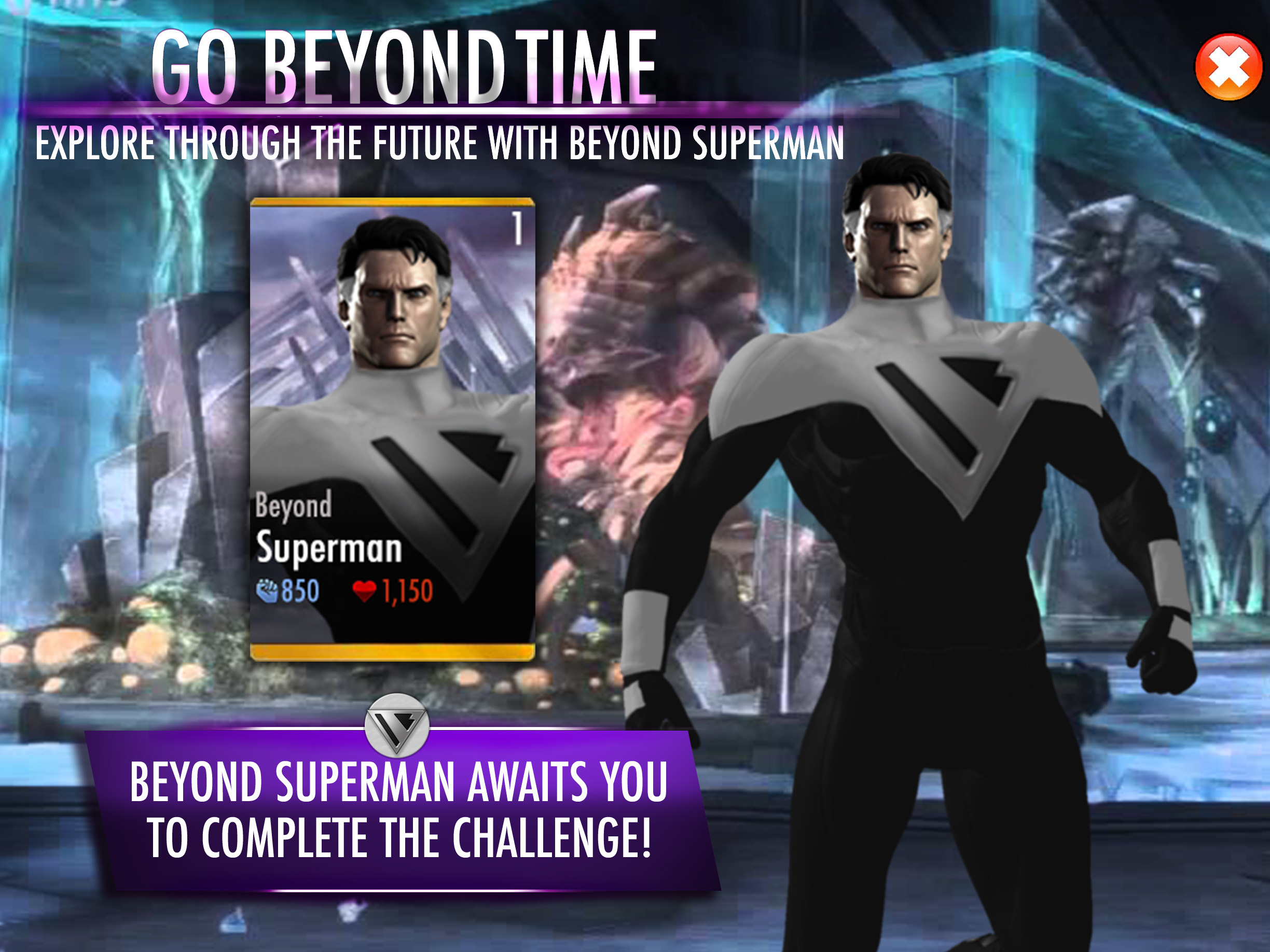 Injustice Fan-Made Teasing Poster Superman Beyond by ...