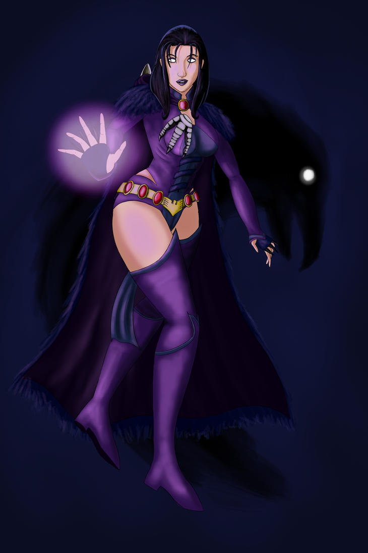 Raven Fanart Custom Costume by TheGreyPersona