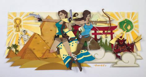 Tomb Raider Commission by UmbranRain