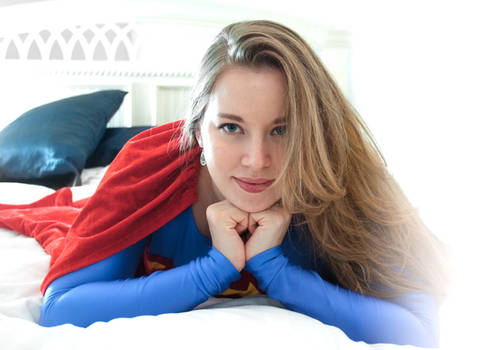 Supergirl - Laying on hands...