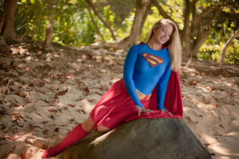 Supergirl Moment In Nature By Ladynoelle On Deviantart