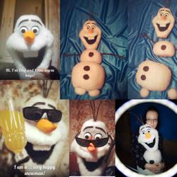 Olaf Snowman - Frozen in progress