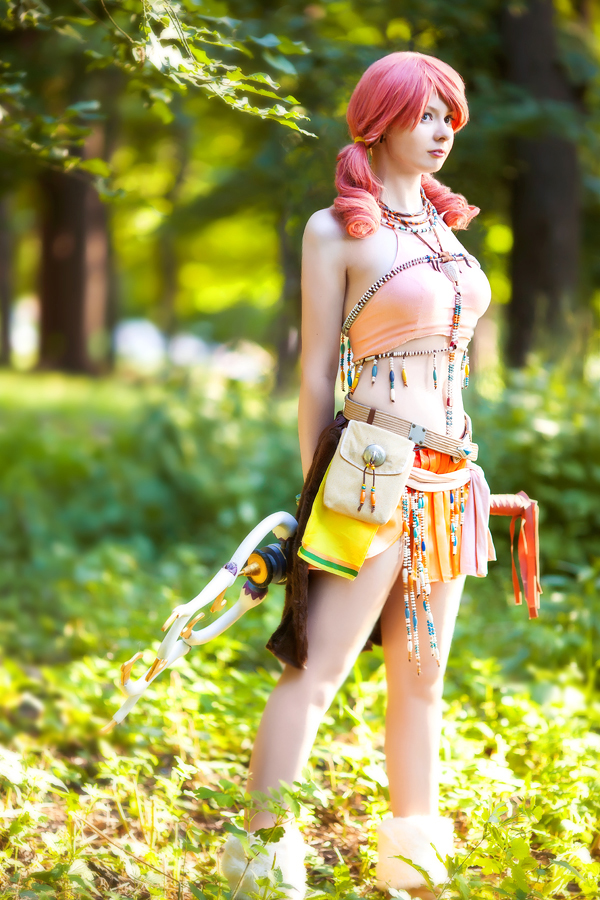 Oerba dia Vanille cosplay - Final Fantasy XIII by Elanor-Elwyn