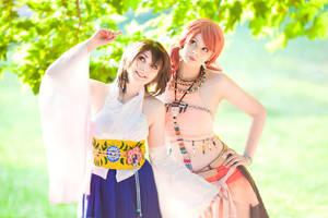 Final Fantasy Crossover cosplay