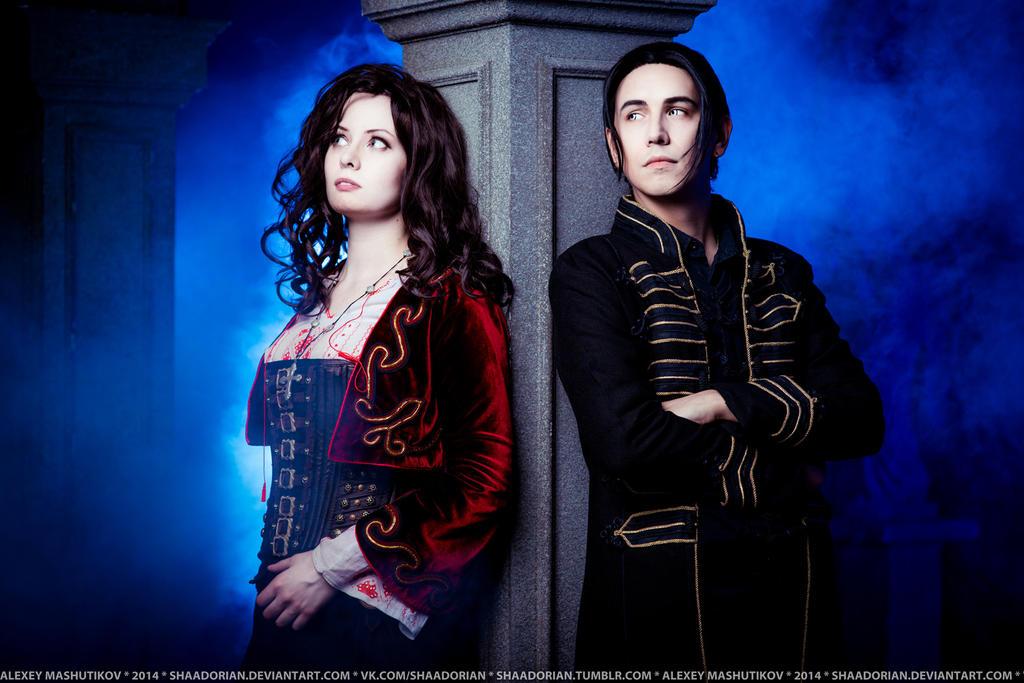 Anna and Dracula - Van Helsing by Elanor-Elwyn