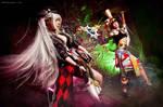 Heroes fight -Minstrel vs Oracle- Atlantica Online