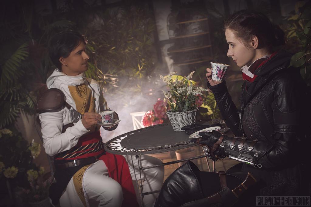Five o'clock tea by Elanor-Elwyn