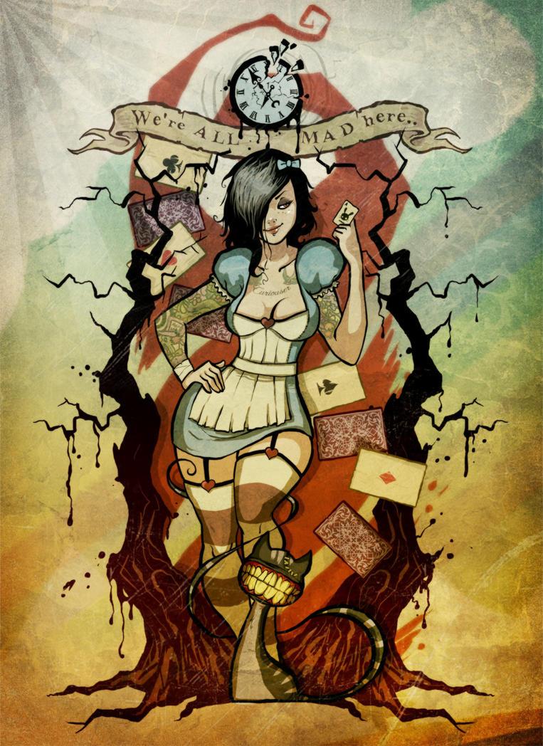 Alice in ZombieLand by johnny-no-cash